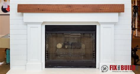 build  fireplace surround  mantel