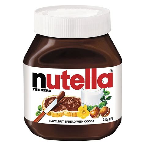 750g cuisine nutella hazelnut spread 750g the warehouse