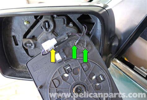 automotive service manuals 2012 bmw x5 spare parts catalogs bmw x5 exterior mirror replacement e53 2000 2006 pelican parts diy maintenance article