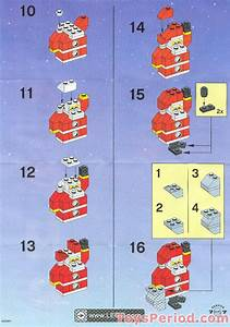 Lego 10068 Santa Claus Set Parts Inventory And