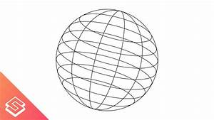 Inkscape For Beginners  Wire Frame Globe  Sphere