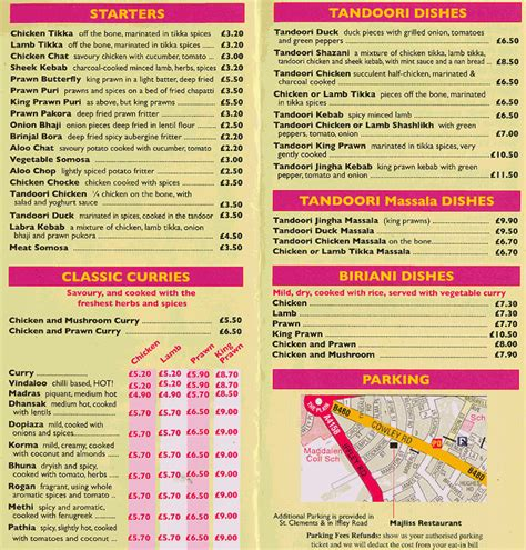 indian cuisine menu indian food menu list
