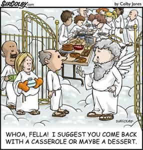 Church Picnic Cartoon