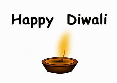 Diwali Happy Clipart Festival Lights Cliparts Transparent