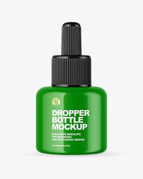 Clear glass dropper bottle mockup. Download Glossy Glass Dropper Bottle PSD - Glossy Dropper ...