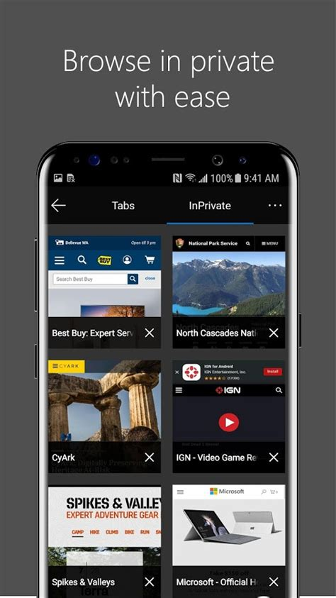 microsoft edge browser for android sheds beta status now available for all