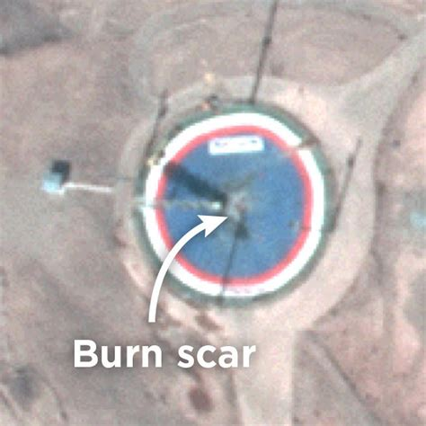 satellite imagery suggests  iranian space launch
