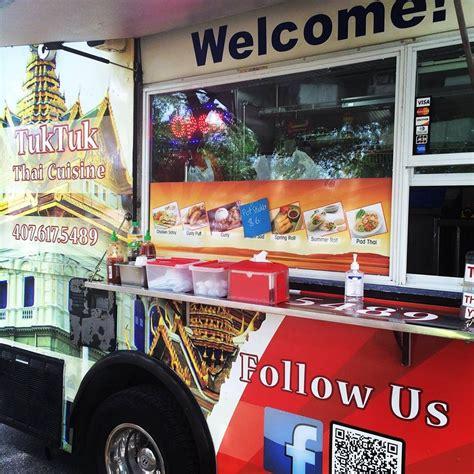 tuk tuk cuisine tuk tuk truck orlando food trucks roaming hunger