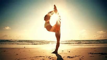 Yoga Desktop Summer Wallpapers Moon Background Solstice