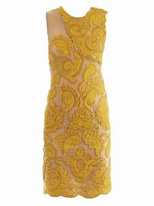 Lyst - Stella Mccartney Steven Embroidered Silk Dress in ...