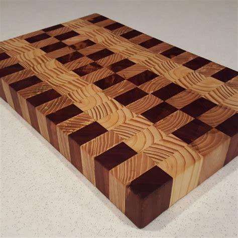 butcher block cutting board plans multi wood end grain cutting board blair wrye designs