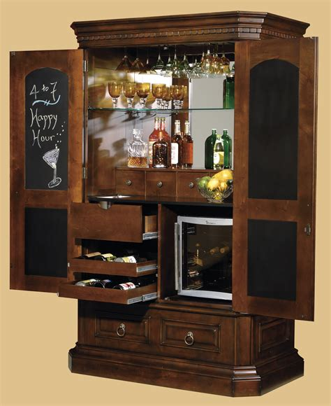 furniture corner liquor cabinet  mixing  serving