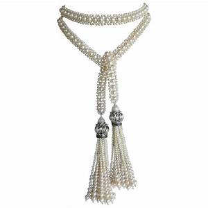 pearl tassel sautoir for sale at 1stdibs With sautoir