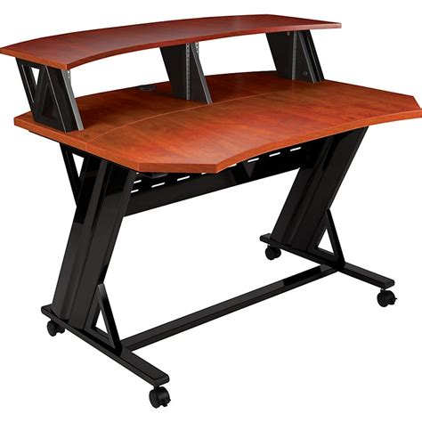 studio trends 46 desk studio trends 46 quot desk cherry cherry musician 39 s friend