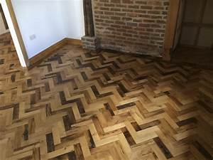 reclaimed herringbone parquet flooring project With reclaimed parquet flooring