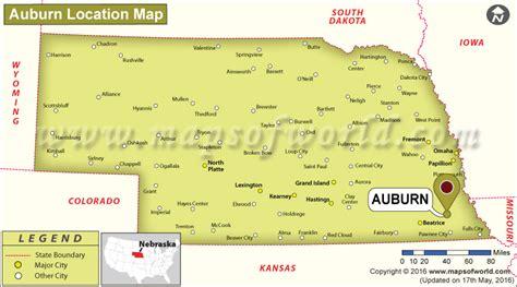 Where is Auburn Located in Nebraska, USA
