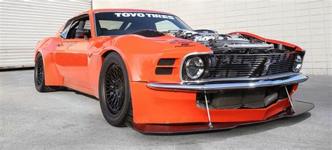twin turbo nissan  powered awd  mustang
