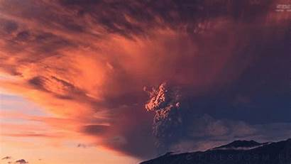 Volcano 4k Erupting