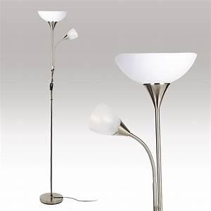 double floor lamp standing uplighter reading light With double floor lamp reading