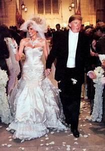 melania knauss and donald trump wedding With donald trump wife wedding dress
