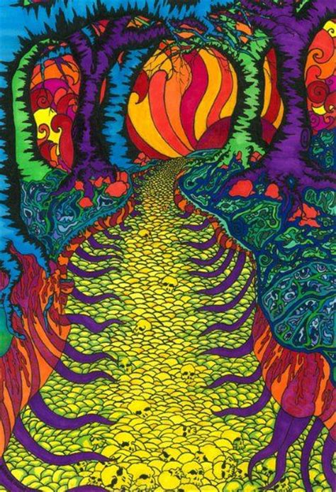 Trippy Forest Hippie Pinterest
