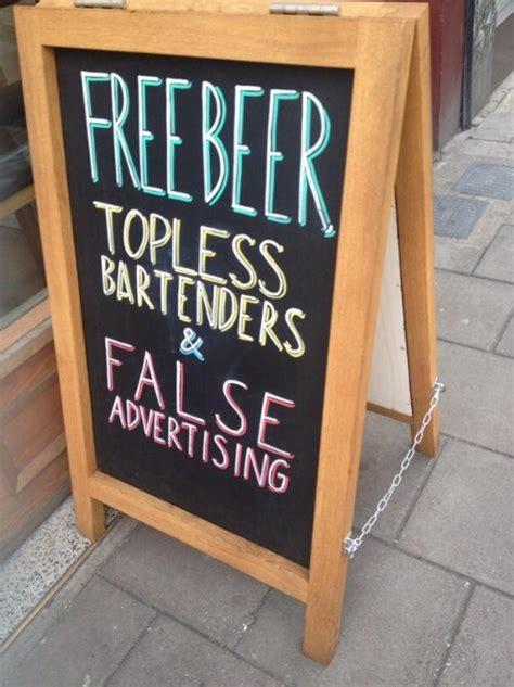 hilarious bar signs