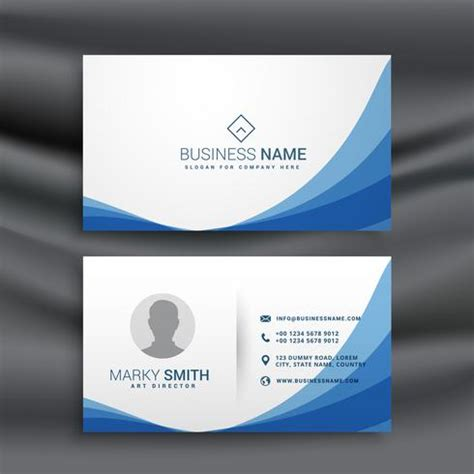 visiting card business card website printable templates