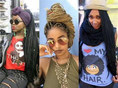 Spectacular Long Box Braids Hairstyles 2017   Hairdrome.com