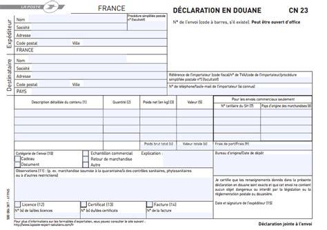 documents douanes envoyer un colis mesenvois fr