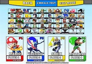 User BlogSuper Sub ZeroSuper Smash Bros Fan Roster