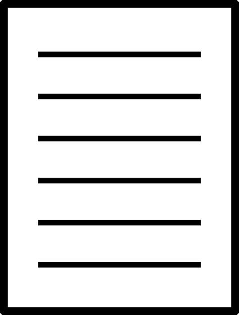 14791 paper clipart black and white image vectorielle gratuite papier feuille a statu 233