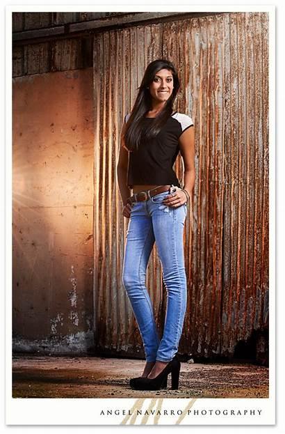 Senior Portraits Jeans Portrait Stylish Edgy Heels
