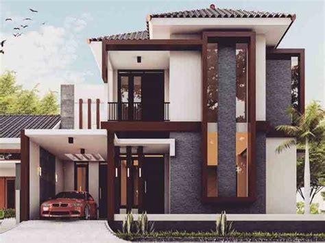 desain rumah minimalis  lantai  jasa maju ananta