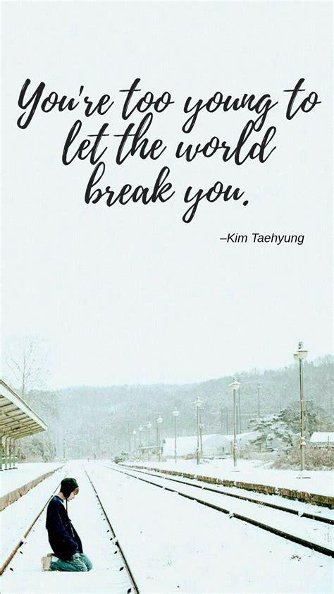 kim taehyung quote bts  bts quotes bts