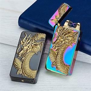 10 Colors Electronic Cigarette Lighter Usb Rechargable