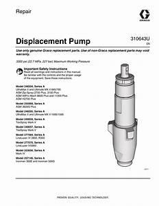 Ultra Max Ii 1595 Displacement Pump Repair