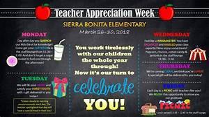 Teacher Appreciation Week Ideas - events to CELEBRATE!