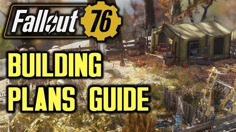 fallout  camp building plans location guide youtube