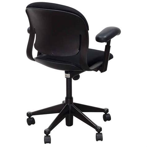 herman miller equa used low back task chair black