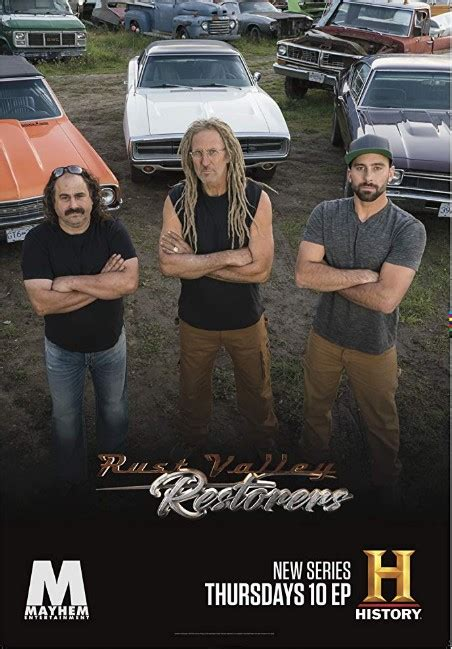 rust valley restorers tv cast poster series episodes everything know need