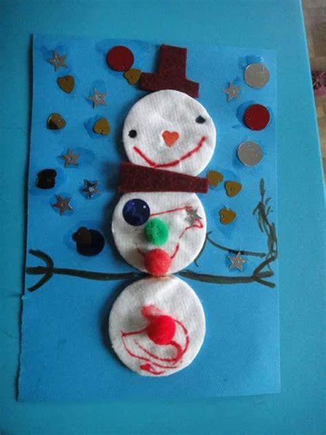 bonhomme preschool nathalie assistante maternelle bonhomme de neige et coton 801