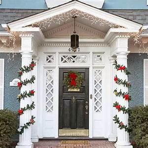 Front, Door, Area, Christmas, Decorating, Ideas