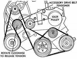 2000 Dodge Caravan Serpentine Belt Diagram