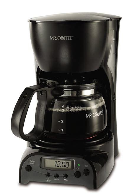2 pot coffee maker mr coffee drx5 4 cup programmable coffeemaker coffee maker brewer espresso black 72179228134 ebay