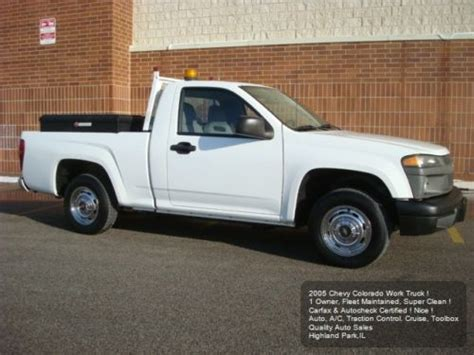Purchase Used 2005 Chevy Colorado Work Truck 1 Owner