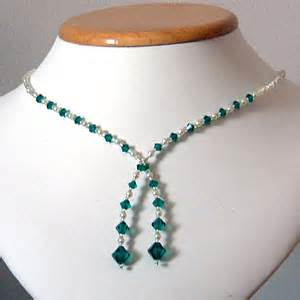 emerald earrings uk handmade swarovski and pearl bridal jewellery from