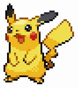 16-Bit Sprites: Pikachu by ToshiroFrog on DeviantArt
