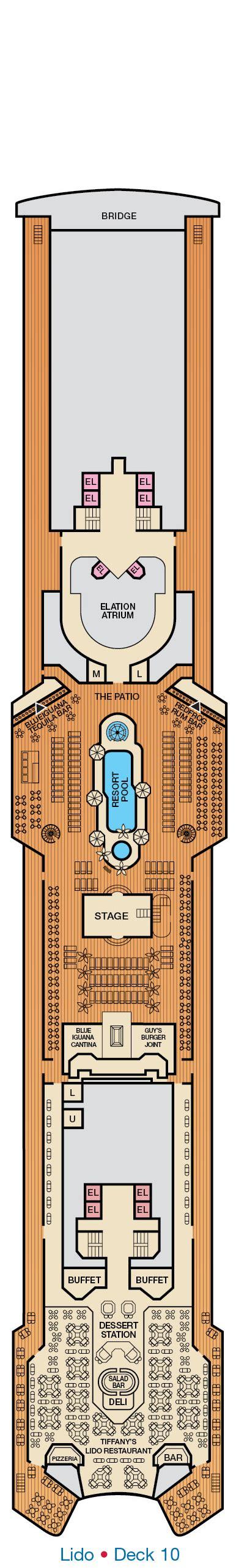 Carnival Elation Deck Plan by Carnival Elation Deck Plans Cruiseind