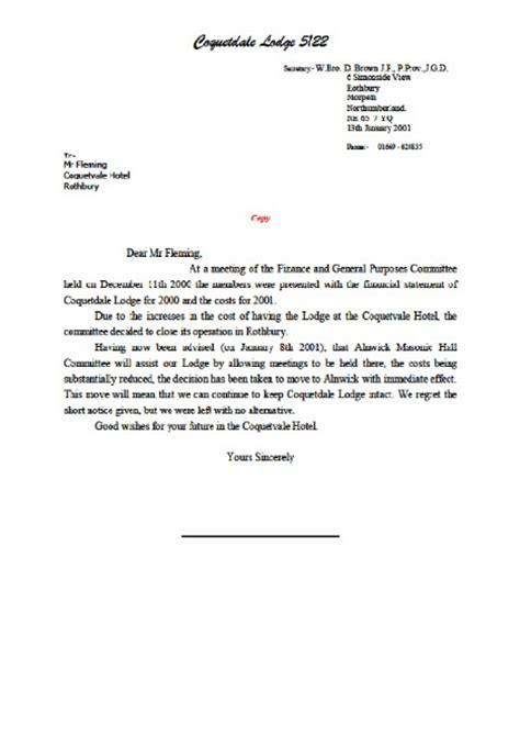 sample letter leaving  job sample business letter