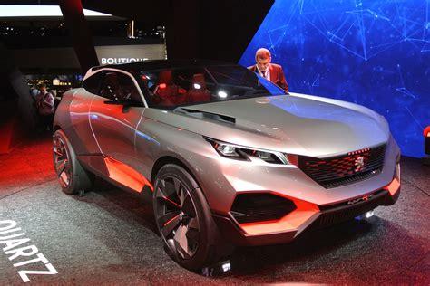 peugeot quartz concept   debut  paris auto express